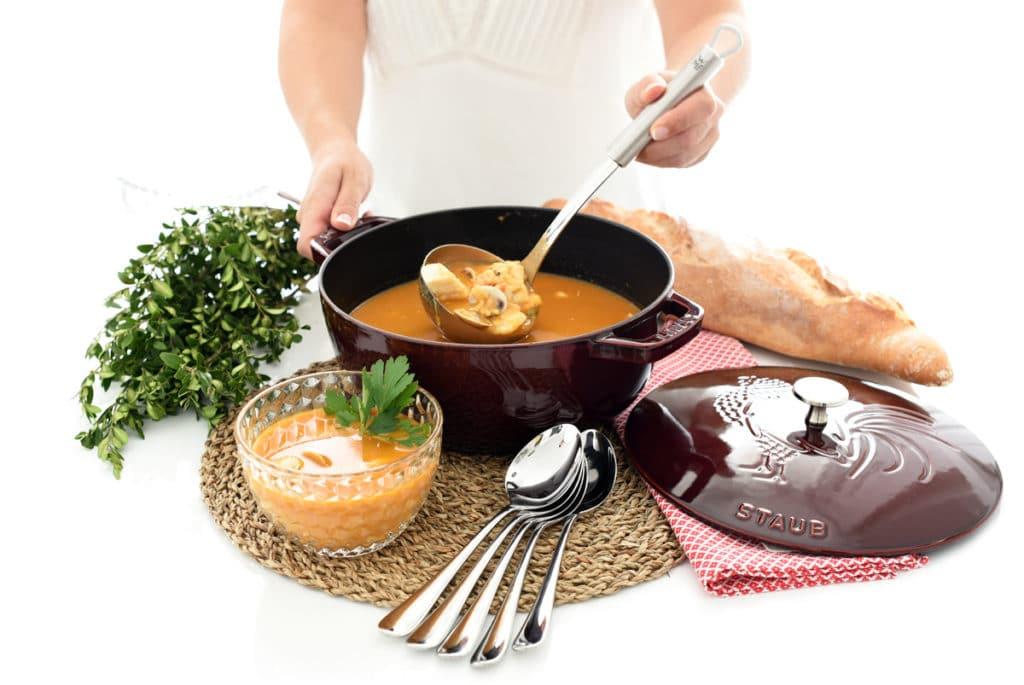 Deliciosa sopa de pescado en Thermomix®