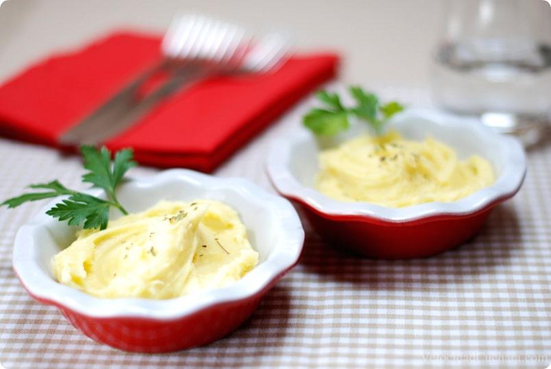 Puré patatas a la italiana