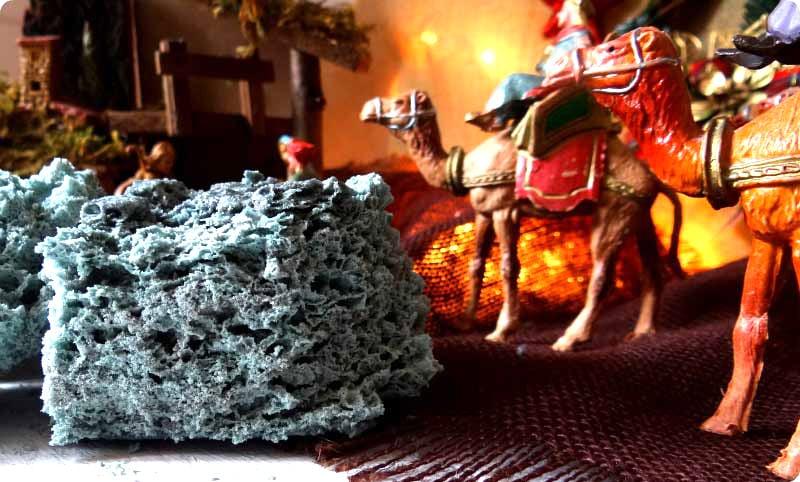 Carbón de Reyes Magos casero
