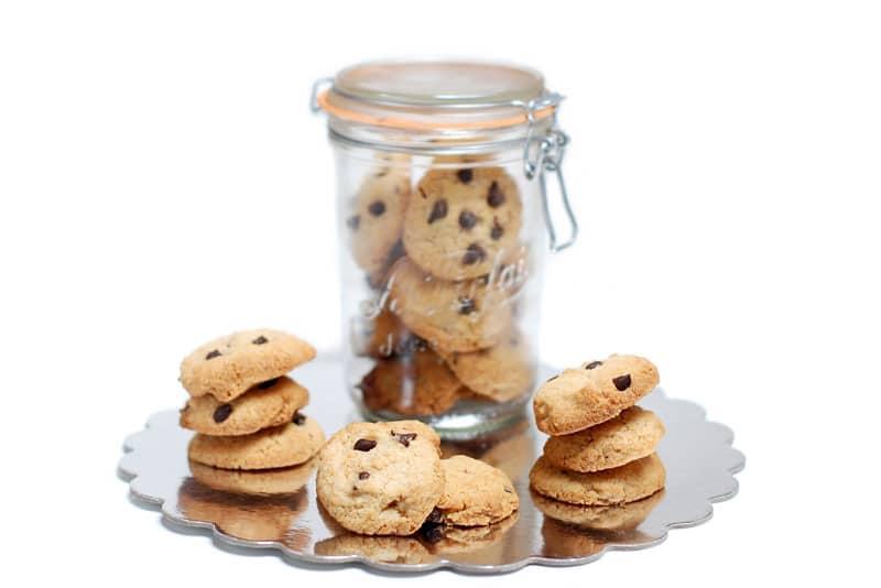 "Galletas ""Chocolate chip cookies"""