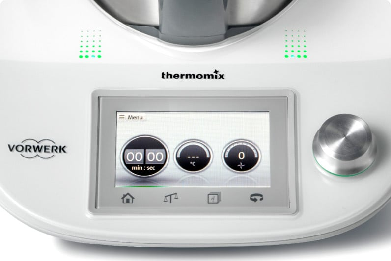 La pantalla táctil de la Nueva Thermomix TM5