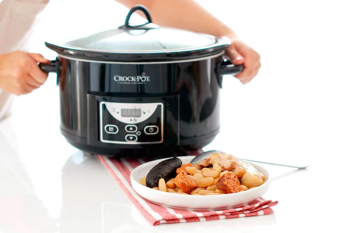 Fabada en CrockPot®, cocina lenta