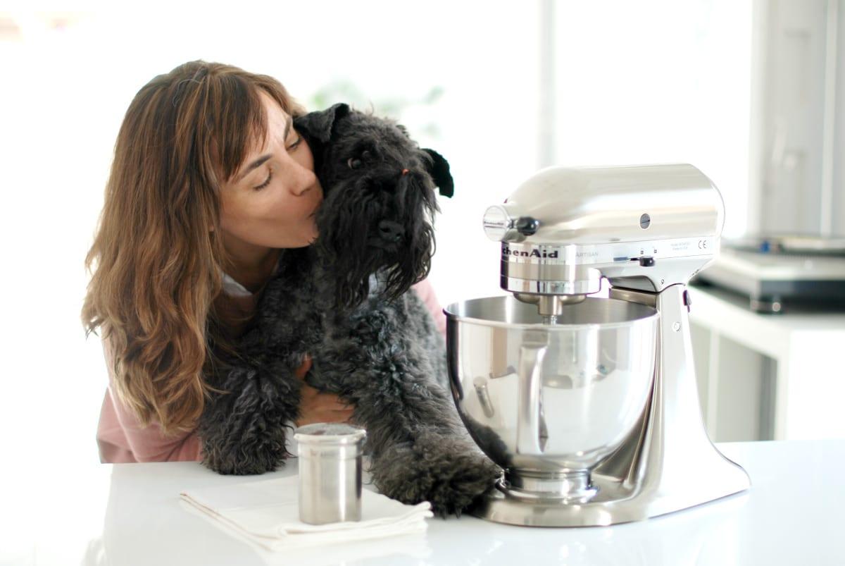 Mi KitchenAid®, níquel pulido y Clara