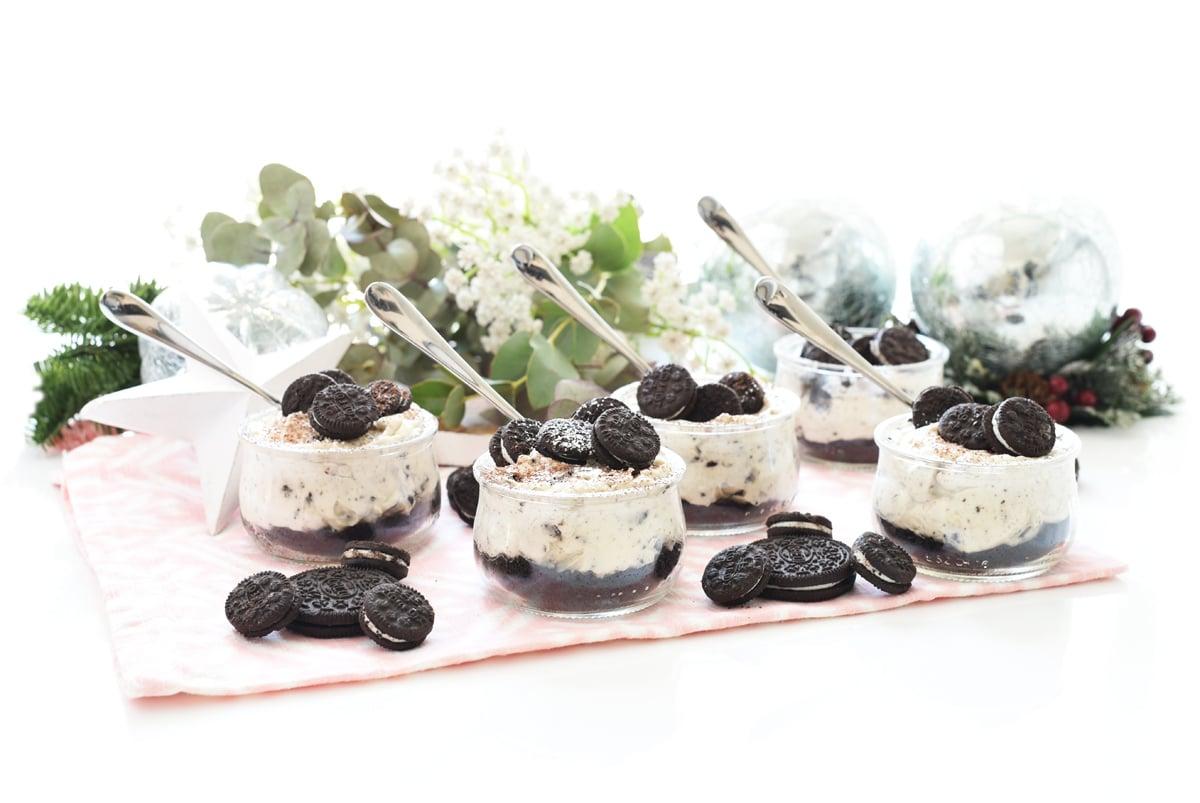 Tarta Oreo® en vasitos
